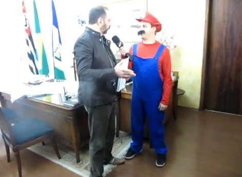 Oscar Filho de Mario Bros CQC