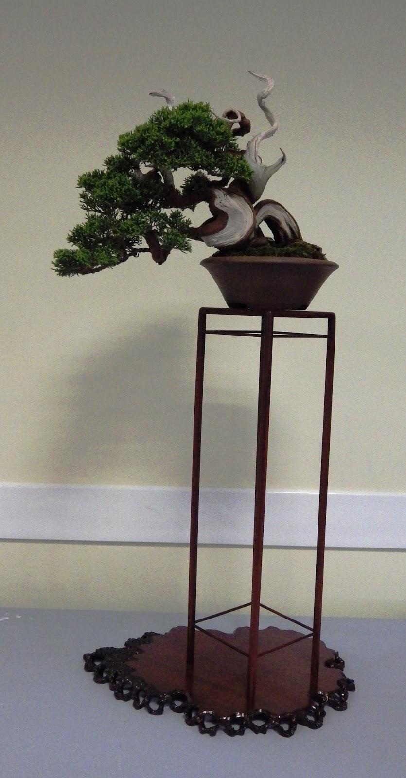 Bespoke Bonsai Stands British Shohin Association Workshop Day