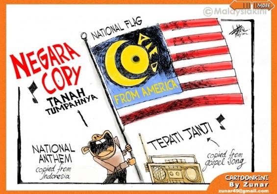 karya kartunis tempatan hina malaysia