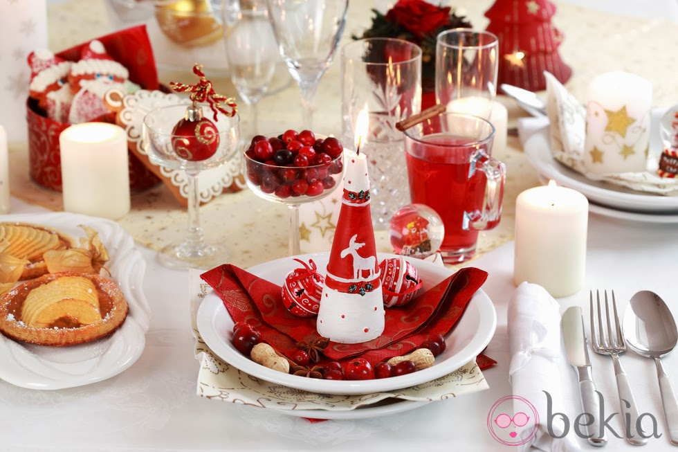 Las delicias de mayte mesas de navidad - Como adornar una mesa de navidad ...