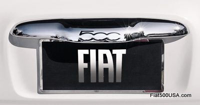 Fiat 500 Tailgate Handle