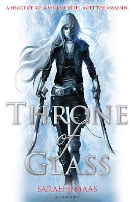 Throne of Glass Book Cover by Sarah J Maas
