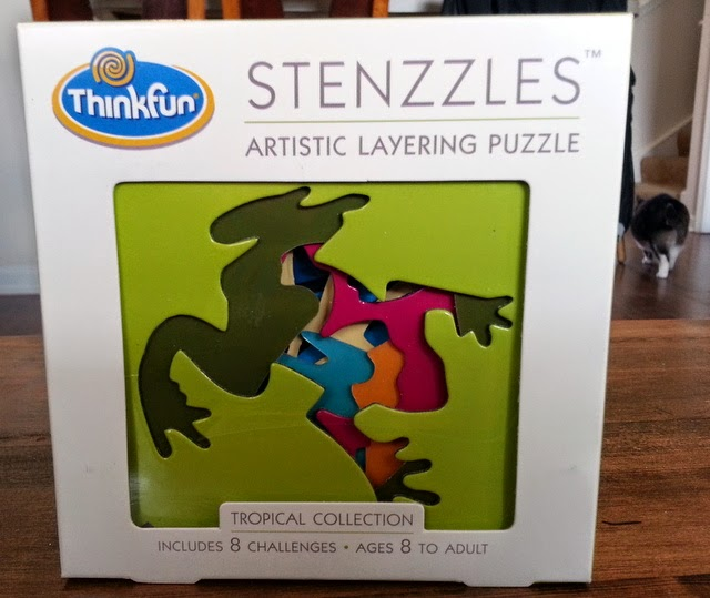 Stenzzles from ThinkFun