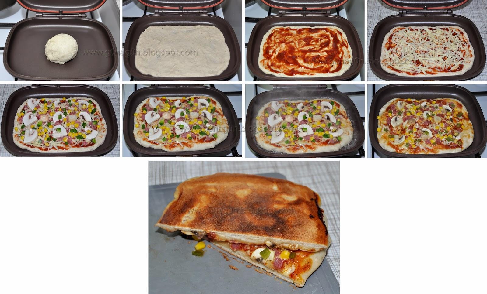 آموزش پیتزا در ماهیتابه