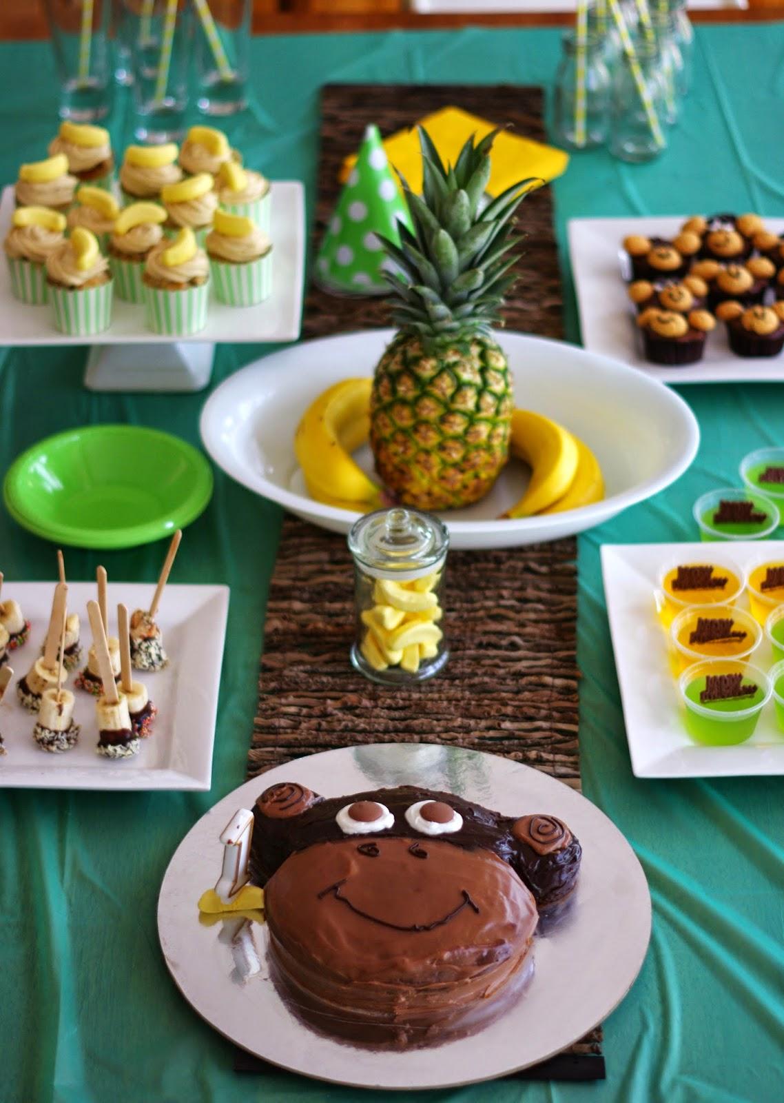 Little Monkey 1st birthday party ideas