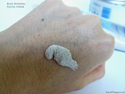 Blue Mineral Facial Scrub