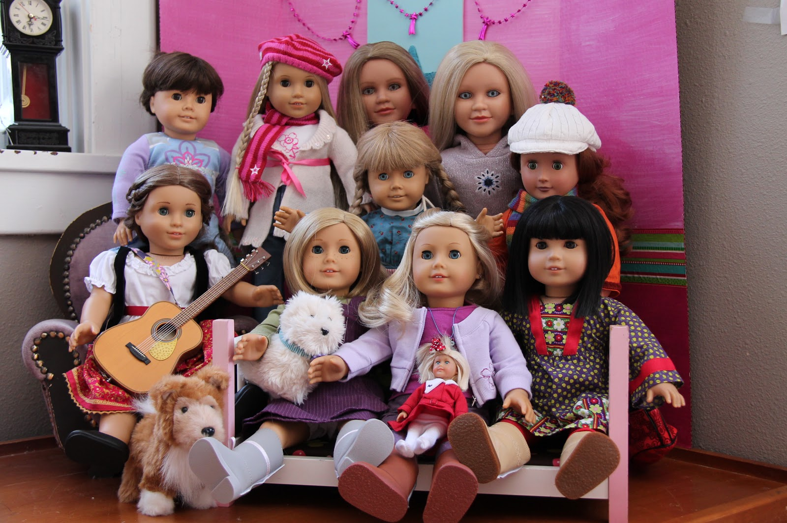 how to play with american girl dolls