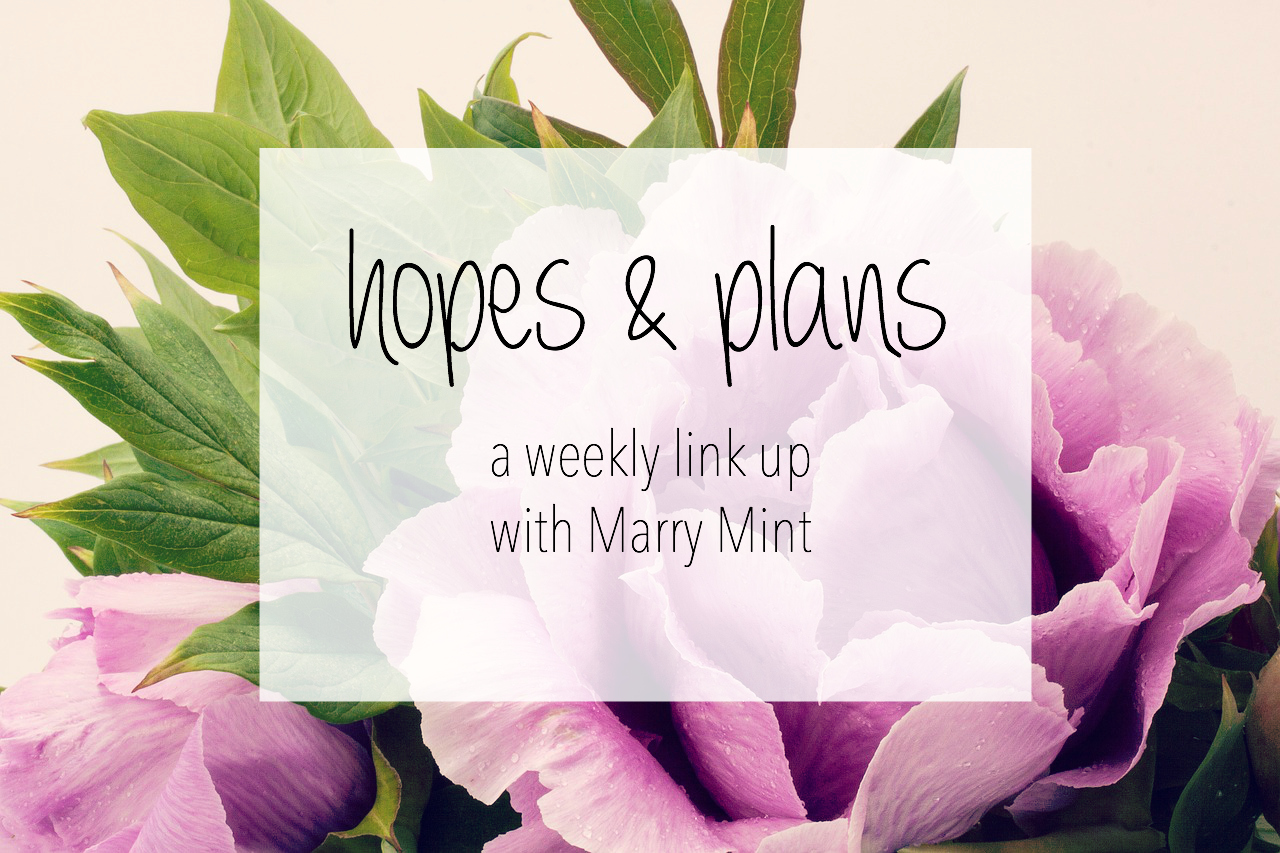 weekly link up