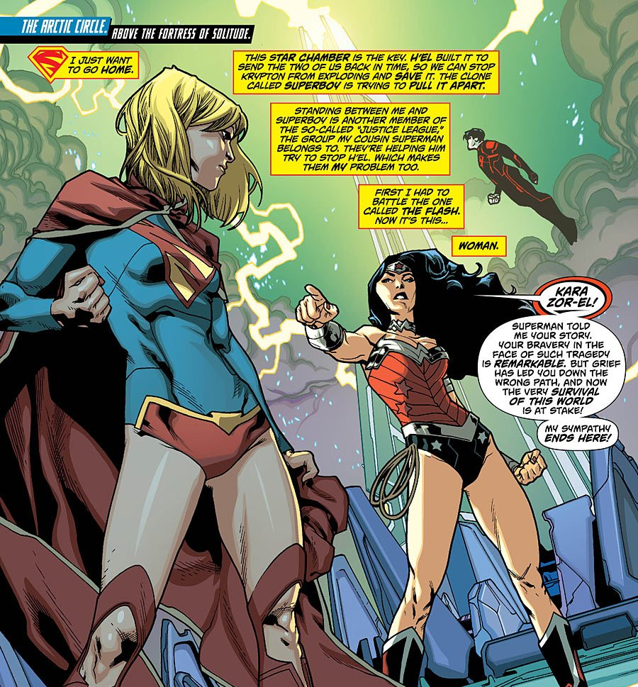 Jabs Farm Lessons Ideal supergirl comic box commentary: february 2013