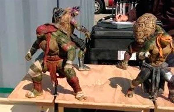 Diseños de personajes Tortugas Ninjas 2014