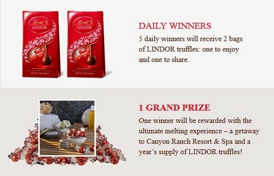 Lindt prizes
