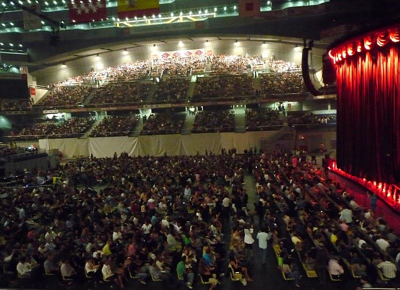 El observador solitario concierto de george michael for Puerta 7 palacio delos deportes