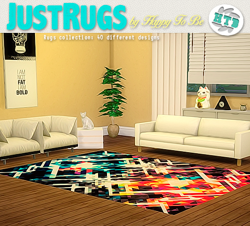 My Sims 4 Blog: Rugs By HappyToBe
