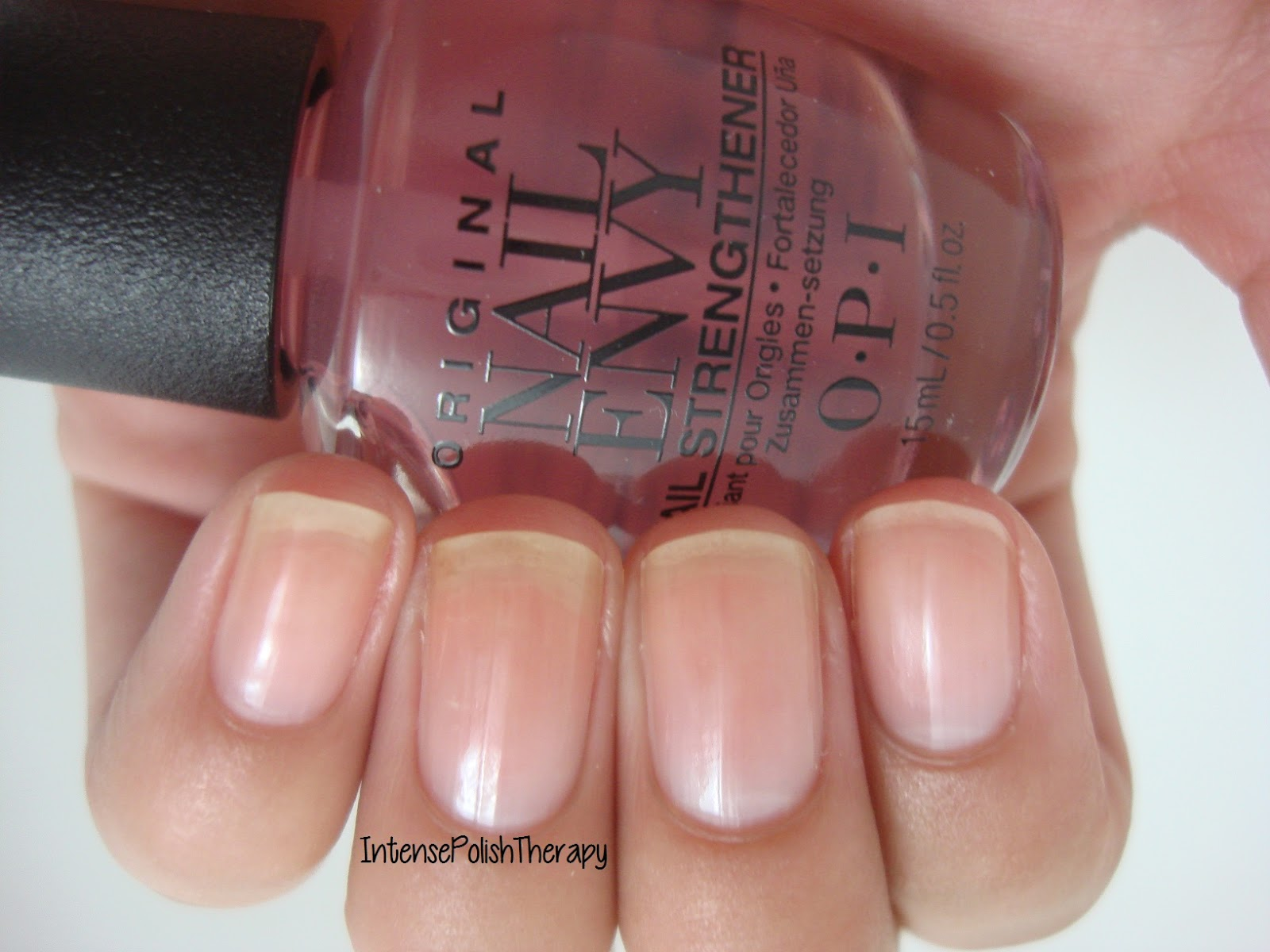 Intense Polish Therapy: OPI | Nail Envy - Strength + Colour SWATCHES
