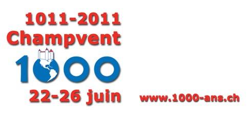 1000 ans Champvent