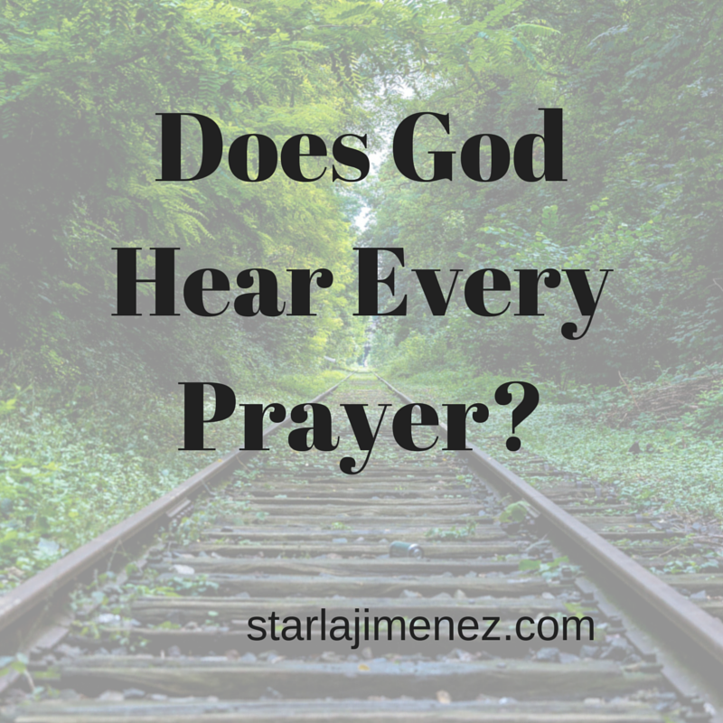 Does God Hear Every Prayer? Does God listen?