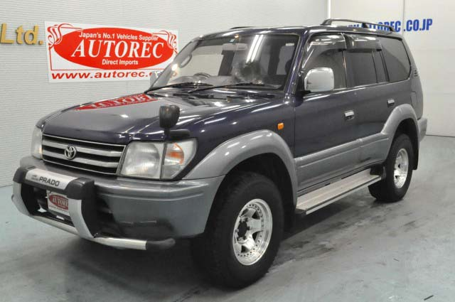 Japanese vehicles to the world: 1996 Toyota Landcruiser Prado TZ 4WD