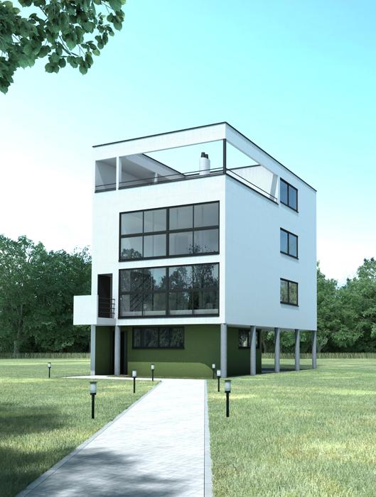 Arquitectura 22 casa citrohan - Le corbusier casas ...
