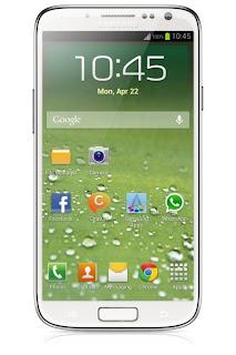 Imagen fake del supuesto Samsung Galaxy S4 filtrada hace una semana.+ La filtración ha aparecido en la web PhoneArena y se trata de un documento interno de la empresa. En él se registran las bases de un concurso entre empleados para incentivar las ventas. La fecha de duración está comprendida entre el 4 de febrero al 8 de abril. Teniendo en cuenta que uno de los premios es un Samsung Galaxy S4, el dispositivo debería salir a la venta antes del 8 de abril, ¿no?. Los últimos rumores sobre la presentación del próximo gran dispositivo de Samsung hablaban del 22