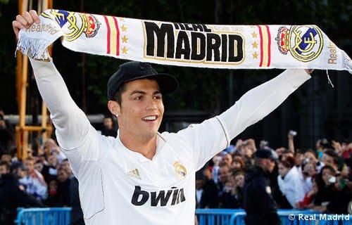 Cristiano Ronaldo Real Madrid Campeón de Liga