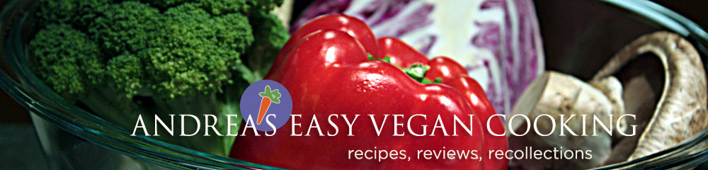 Andrea&#39;s Easy Vegan Cooking