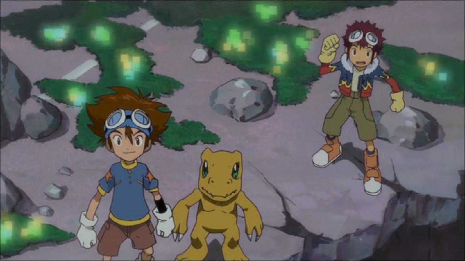 Digimon World Tour Fanfiction