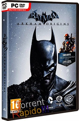 Download Capa 3D Batman: Arkham Origins PC
