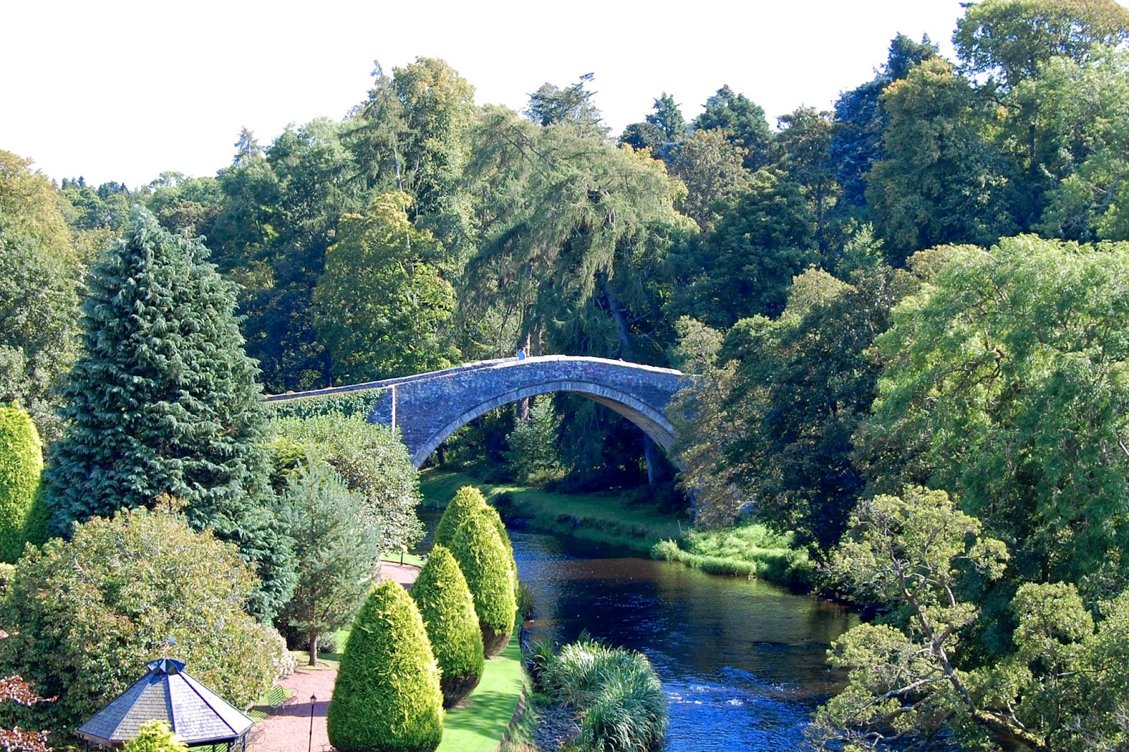 Brig o' Doon, the bridge over River Doon