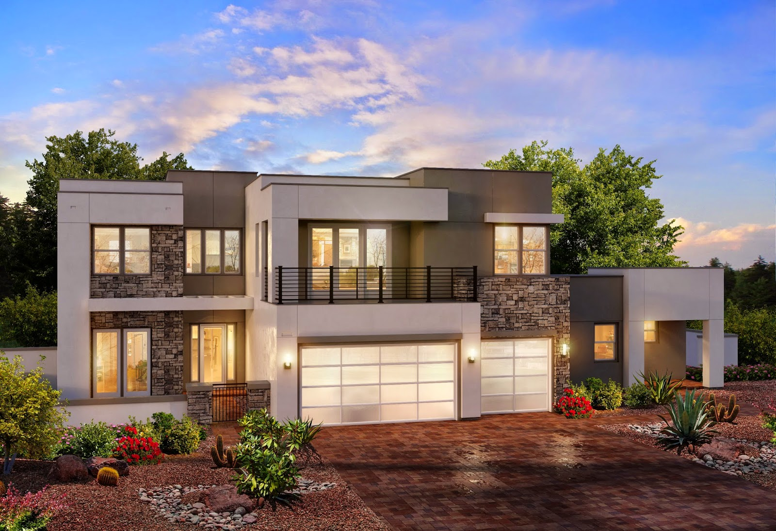 Distinctive Homes Las Vegas 4980 Model