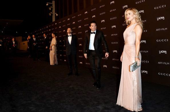 Kate Hudson made a very memorable arrival to the LACMA gala at Los Angeles, USA on Saturday, November 1, 2014.