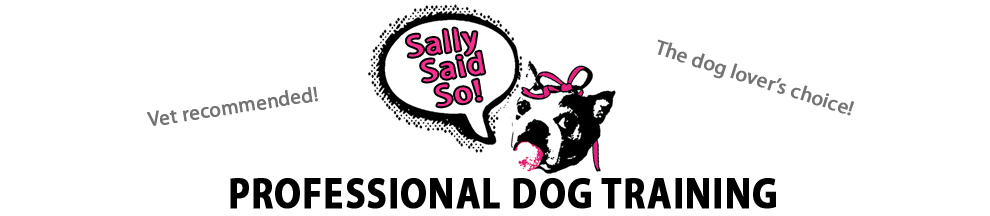 Sally Said So Professional Dog Training