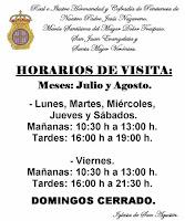 HORARIOS IGLESIA DE SAN AGUSTÍN DE ARCOS