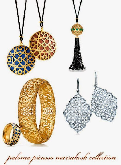 Desejo do dia - Acessórios Paloma Picasso, fios pendentes, anéis, braceletes, pulseiras