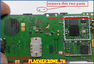 Nokia 1280 nokai 103 light ways jumper diagram hardware problem solution