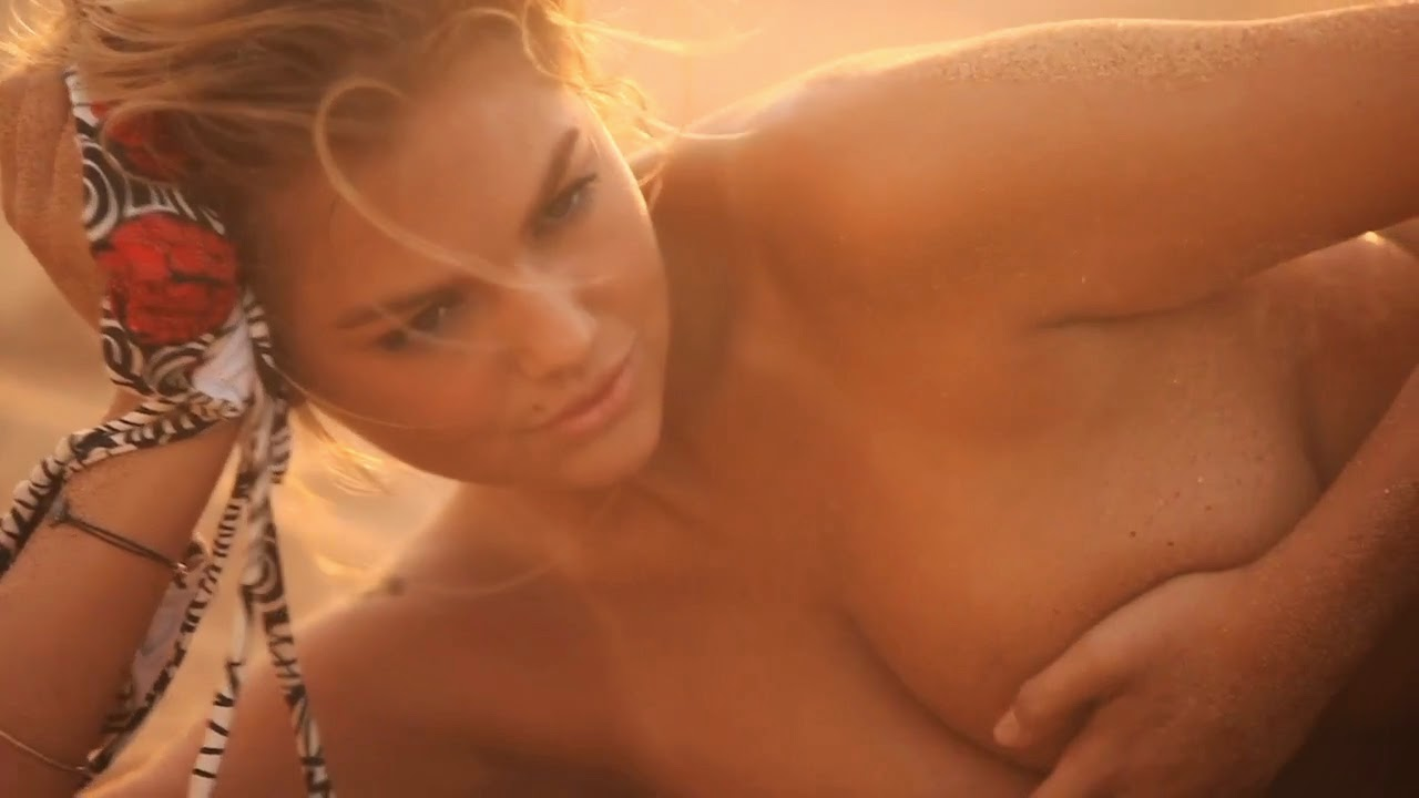 Kate Upton hot in new breaking video of SI photo 5