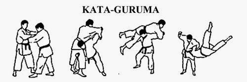technique judo au sol