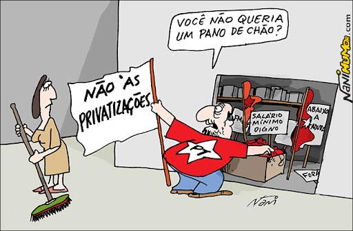 Privatização dos aeroportos. PT