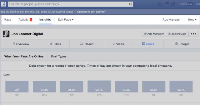 tính năng thống kê facebook mới