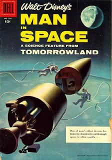 retro-weekend drive-in: disney's 1955 'man in space'