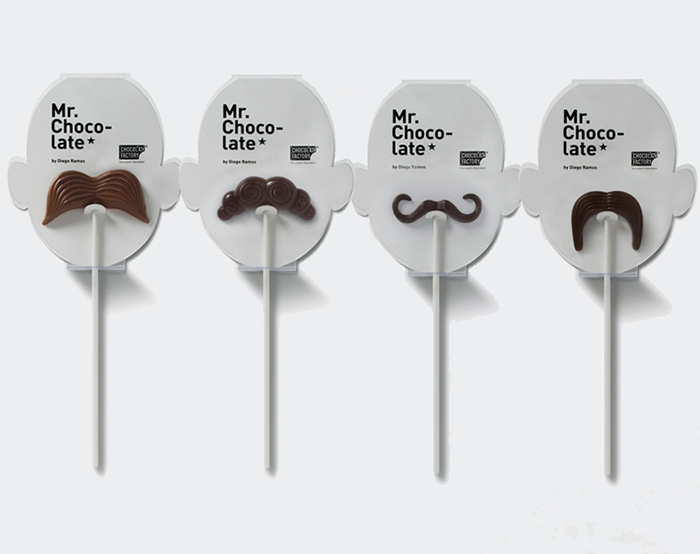 Milk Chocolate Moustaches
