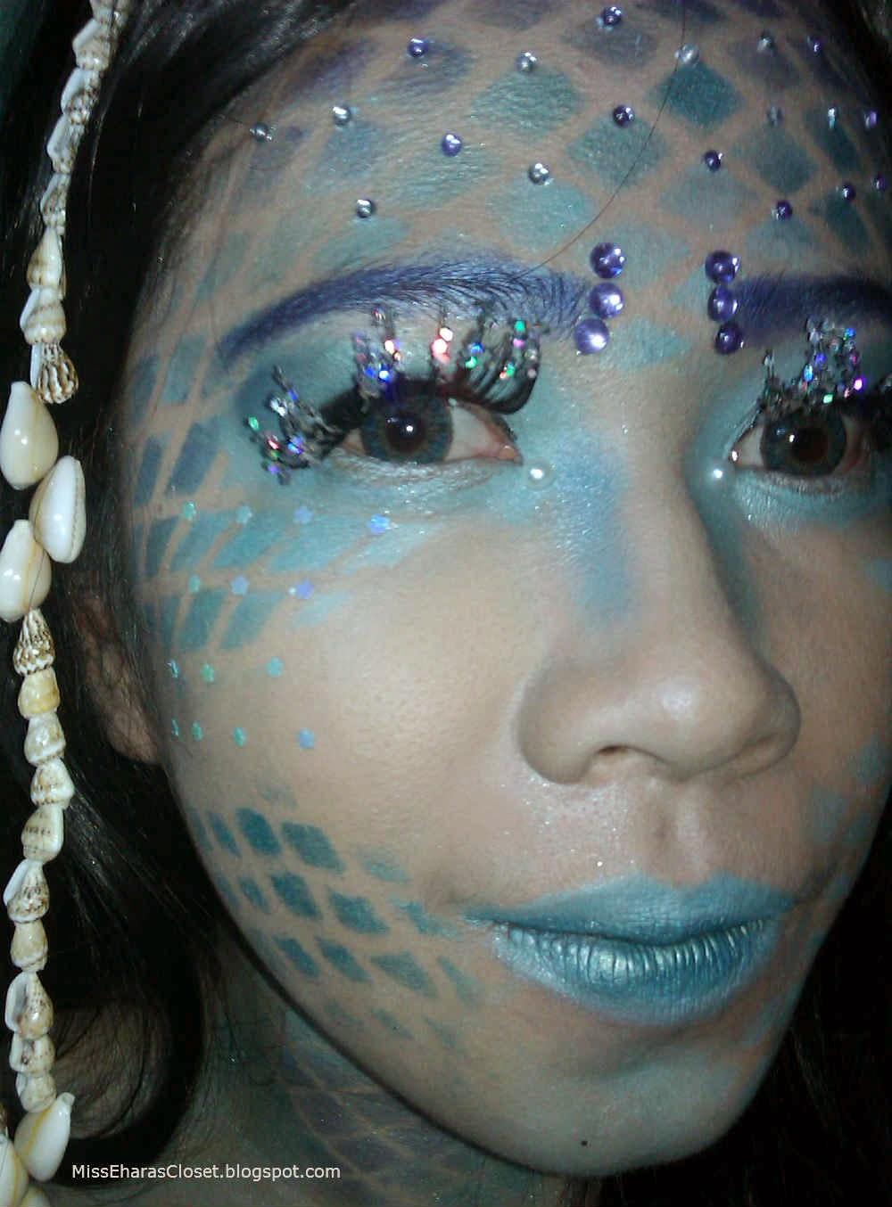 Mermaid Skin Makeup