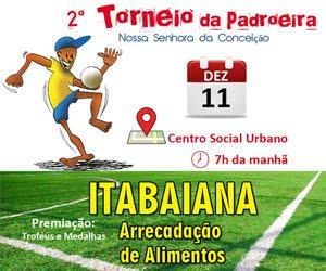 2º Torneio da Padroeira de ITABAIANA
