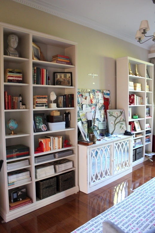 my decor education diy ikea hack how to transform ikea billy bookcases using wood trim molding. Black Bedroom Furniture Sets. Home Design Ideas
