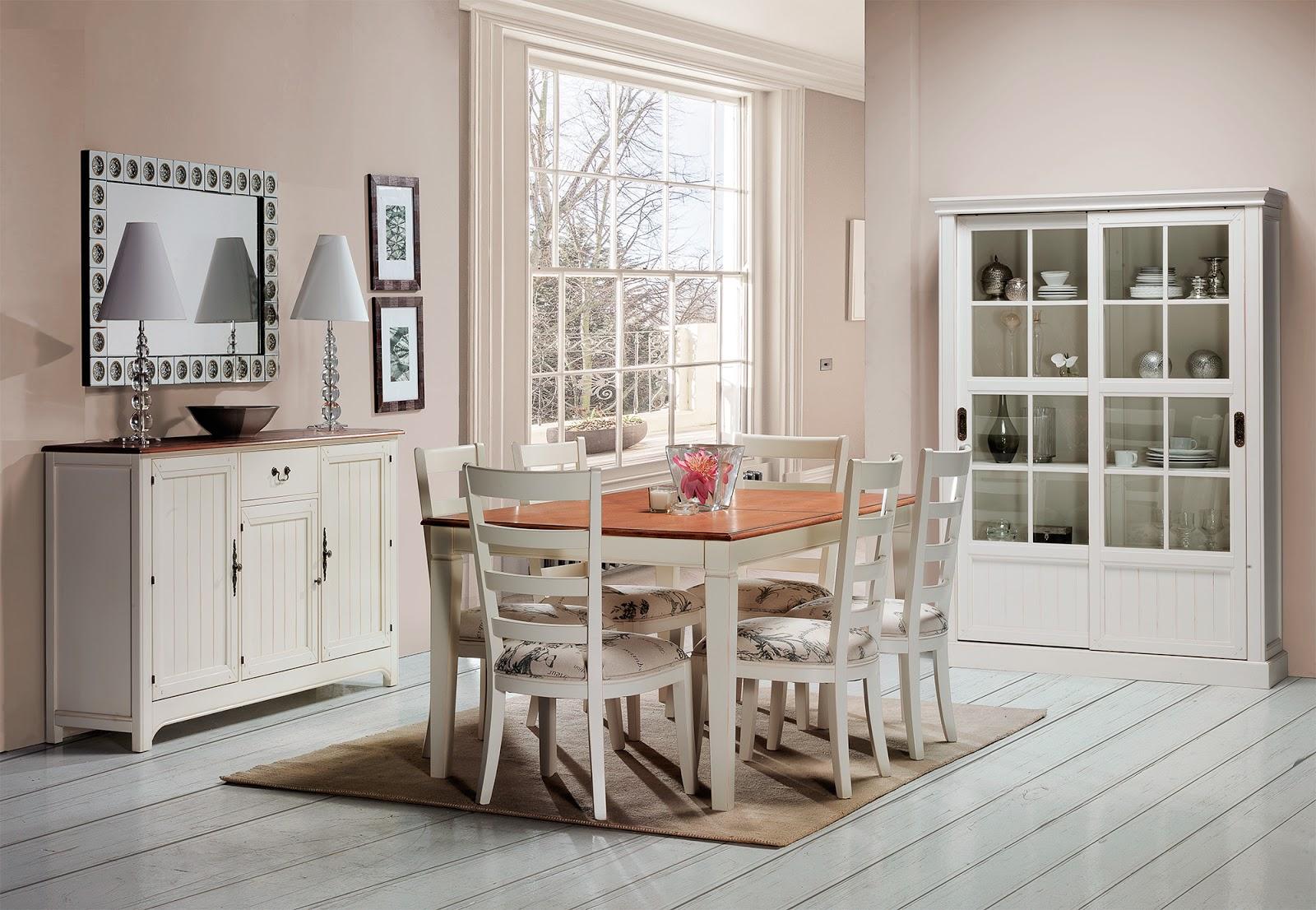 Muebles de comedor 10 comedores con vitrina - Muebles rusticos modernos ...