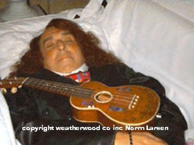 Marvin gaye coffin tiny tim in his coffin 1996
