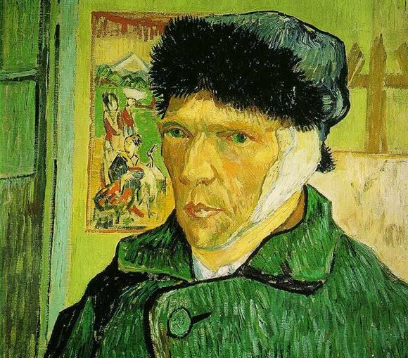 Vincent Van Gogh cut off his own ear.