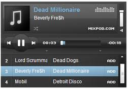 lecteur de musique Mixpod