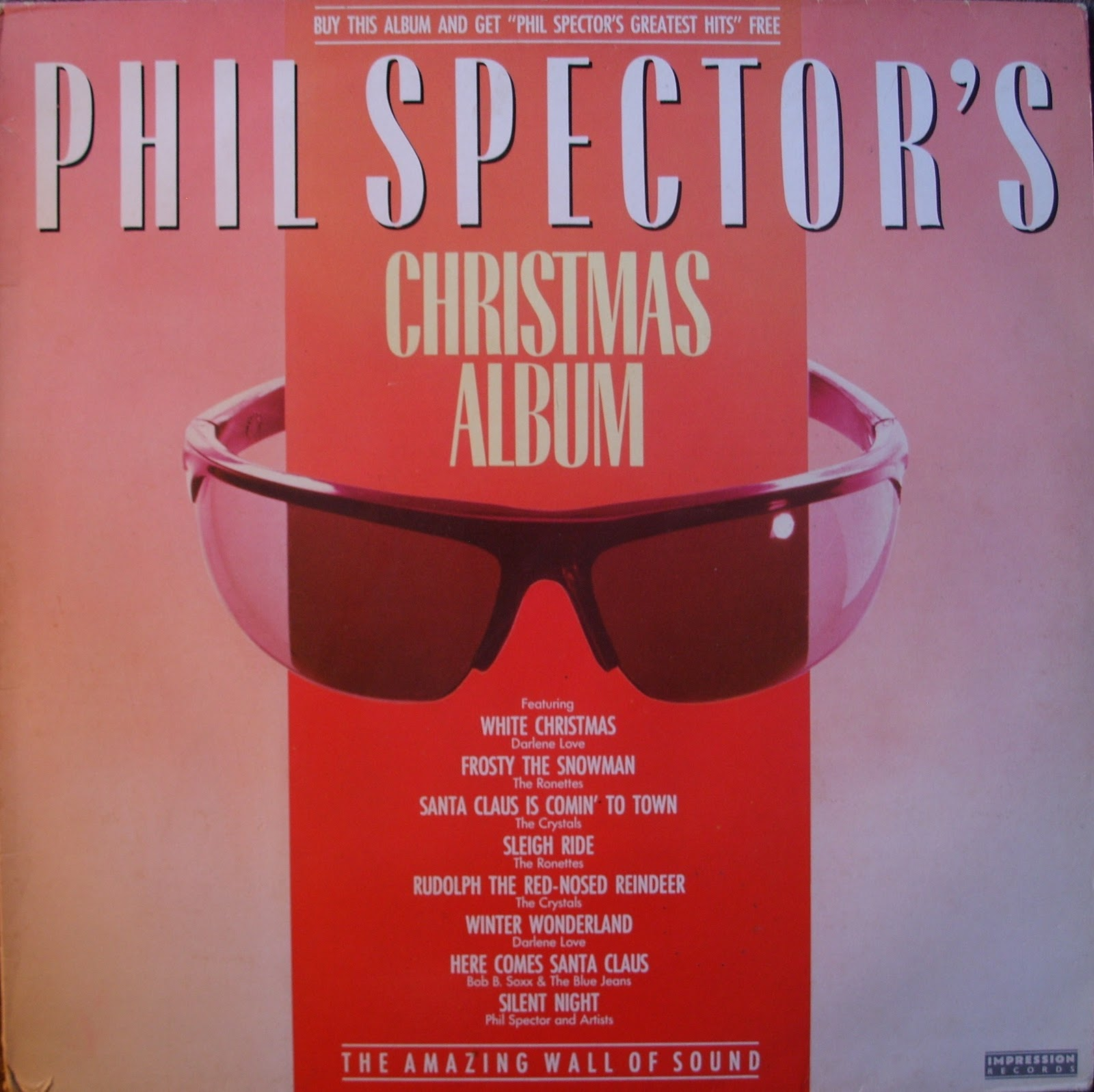 Car Boot Vinyl Diaries: Christmas Wall Of Sound