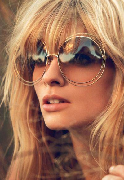 Óculos de sol com estilo Chloé