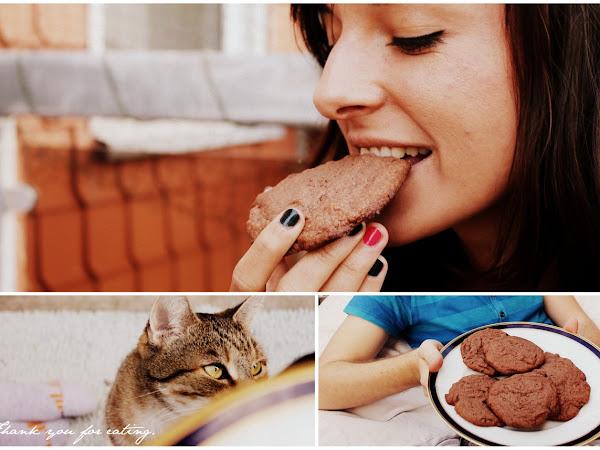 Chocolate-Peanut-Butter-Cookies - oder auch: mit Freunden genießen!